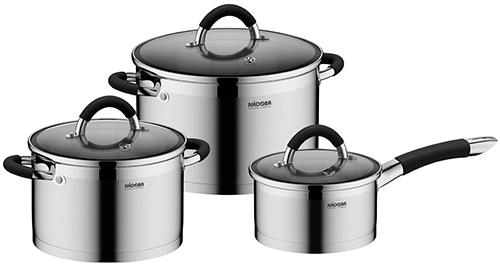 Набор посуды Nadoba OLINA 6 пр. 726418