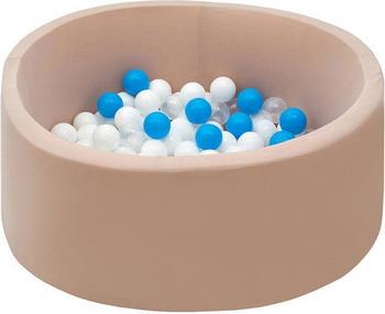 ухой Hotnok Ванильные облака 200 шарами в комплекте: бел прозр голуб sbh 057