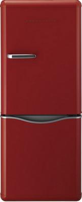 Двухкамерный холодильник Daewoo BMR 154 RPR красный холодильник shivaki bmr 2013dnfw двухкамерный белый