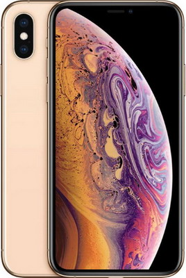 Мобильный телефон Apple iPhone Xs 64 GB Gold (MT9G2RU/A)