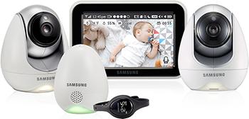 Видеоняня Samsung SEW-3057 WPX2 samsung видеоняня sew 3053wp цвет белый