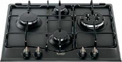 Встраиваемая газовая варочная панель Hotpoint-Ariston 7HPC 640 T (AN) R/HA hotpoint ariston fhr 540 an ha