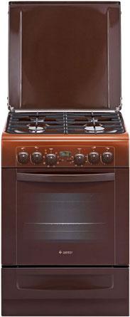 Комбинированная плита GEFEST 6102-03 0001 газовая плита gefest пгэ 6102 02 0001 электрическая духовка коричневый