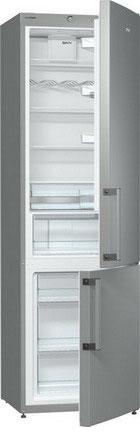 Двухкамерный холодильник Gorenje RK 6201 FX двухкамерный холодильник позис rk 101 серебристый металлопласт