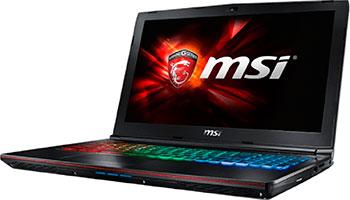 Ноутбук MSI GE 62 6QE-463 XRU (9S7-16 J 512-463) ноутбук msi gs72 6qe 426xru stealth pro 2600 мгц 8 гб 1000 гб
