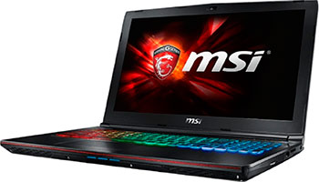 Ноутбук MSI GE 62 6QE-463 XRU (9S7-16 J 512-463) ноутбук msi gs72 6qe 436ru 9s7 177514 436