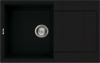 Кухонная мойка Elleci EASY 300  granitek (40) full black LGY 30040 мойка кухонная elleci ego 480 1000x500 granitek 62 lge48062