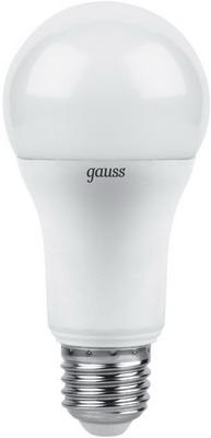 Лампа GAUSS LED A 60 globe 12 W E 27 2700 K 102502112 лампа gauss led globe e 27 6 5w 2700 k 105102107