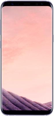 Мобильный телефон Samsung Galaxy S8 (SM-G 950) фиолетовый мобильный телефон samsung metro sm b350e duos black blue