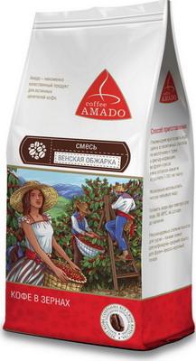Кофе зерновой Amado Венская обжарка (смесь) 0 5 кг кофе зерновой amado венская обжарка смесь 0 5 кг