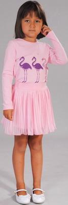 все цены на  Туника Fleur de Vie 24-0840 рост 110 розовый  онлайн