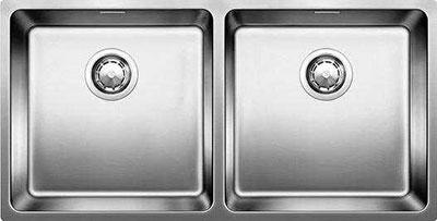 Кухонная мойка BLANCO ANDANO 400/400-U нерж.сталь полированная без клапана-автомата blanco andano 400 400 if