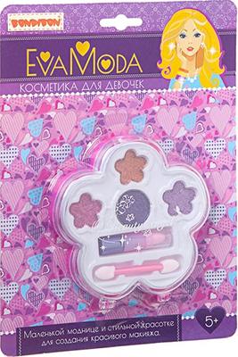 Набор детской декоративной косметики Bondibon Eva Moda  ВВ1757 bondibon набор детской декоративной косметики eva moda вв1766
