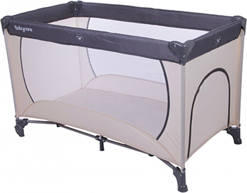 Кровать-манеж Baby Care Arena Серый/Бежевый OB-888 baby care ob 888 arena coffee beige