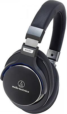 Наушники Audio-Technica ATH-MSR7BK гарнитура audio technica ath sport3 bk black