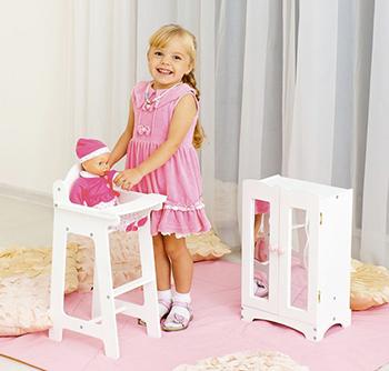 Набор кукольной мебели Paremo PFD 116-16 (шкаф стул) цвет Белый бумага cactus cs ga4200100 a4 200г кв м глянцевая 100л