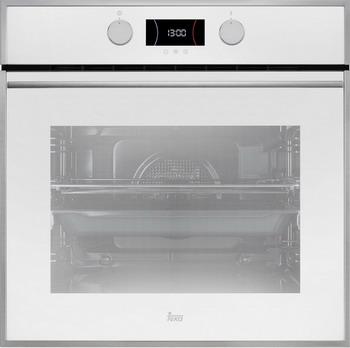 Встраиваемый электрический духовой шкаф Teka HLB 840 WHITE встраиваемый электрический духовой шкаф teka hs 625 stainless steel