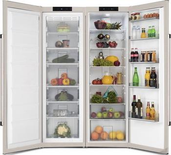 Холодильник Side by Side Vestfrost VF 395-1 SBB холодильник vestfrost vf 373 ed