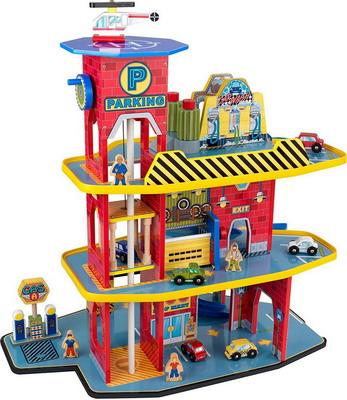 """Автопарковка игрушечная KidKraft Паркинг Делюкс 17481_KE kidkraft тостер игрушечный """"bright"""" kidkraft"""