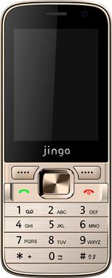 Мобильный телефон Jinga Simple F 370 Золотой jinga jinga simple f315b blue