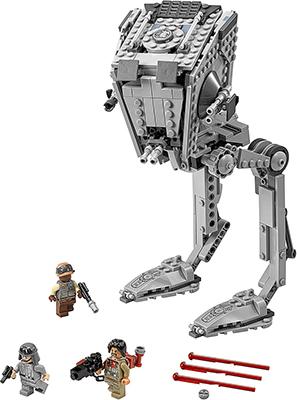Конструктор Lego Star Wars Разведывательный транспортный шагоход (AT-ST) 75153-L конструктор lego star wars имперский шаттл 75163 l