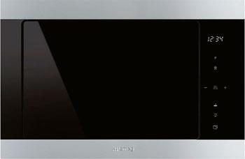 Встраиваемая микроволновая печь СВЧ Smeg FMI 325 X smeg kse 91 x 1