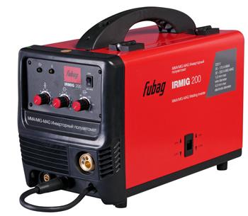 Сварочный аппарат FUBAG IRMIG 200 (38609) + маска сварщика Fubag Optima 9-13 сварочный инвертор fubag ir 220