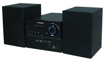Музыкальный центр Hyundai H-MS 200 чёрный жестокий романс dvd полная реставрация звука и изображения