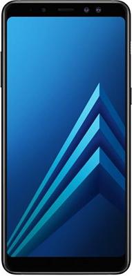 Мобильный телефон Samsung Galaxy A8+ (2018) SM-A 730 F/DS черный планшет samsung galaxy tab a sm t350 sm t350nzkaser