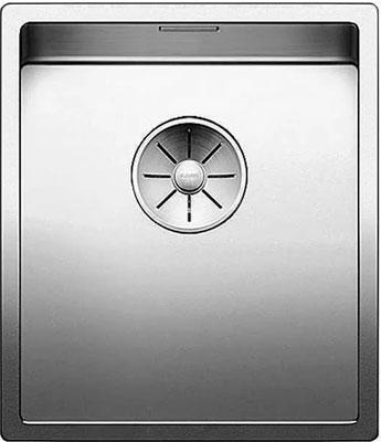 Кухонная мойка BLANCO CLARON 340-U нерж. сталь зеркальная полировка 521571 мойка claron 400 u 517213 blanco