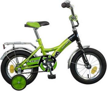 Велосипед Novatrack 12 FR-10 зелёный 123 FR 10.GN5 велосипед novatrack fr 10 20 077377 фиолетовый