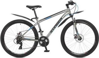 Велосипед Stinger 27.5'' Graphite D 18'' серый 27 AHD.GRAPHD.18 GR7 велосипед stinger valencia 2017