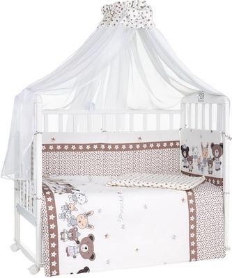 Комплект постельного белья Sweet Baby Peluche Beige комплект в кроватку sweet baby agnello beige бежевый с рис 7 предметов сатин
