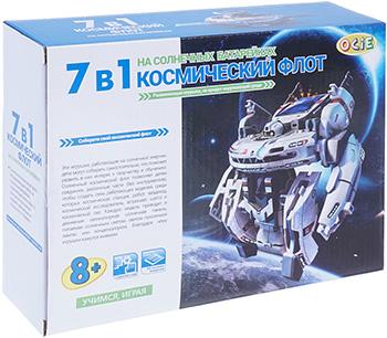 Набор роботов OCIE 7 в 1 на солнечной энергии ''Космический флот'' 1CSC 20003251 amazing научный опыт 38825n космический робот