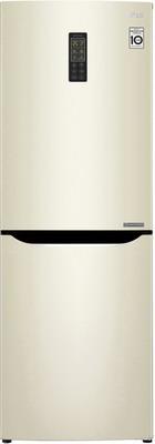 Двухкамерный холодильник LG GA-B 379 SYUL Бежевый