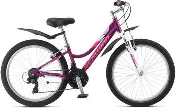 Велосипед Schwinn Breaker 24 Girls фиолетовый горный велосипед kawasaki cqtx008 21 24 27 24 26
