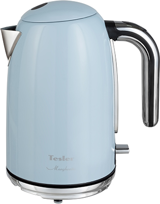 Чайник электрический TESLER KT-1755 SKY BLUE retro luxurious kerosene lighter sky blue