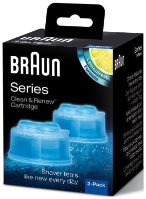 цена Средство для очистки бритв BRAUN CCR2