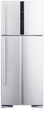 Фото - Двухкамерный холодильник Hitachi R-V 542 PU3 PWH двухкамерный холодильник hitachi r v 472 pu3 pwh