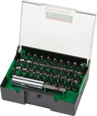 Набор бит Hitachi 31 насадка с магнитным держателем 752245 набор бит skrab 43550