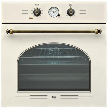 Встраиваемый электрический духовой шкаф Teka HR-650 White Cream встраиваемый газовый духовой шкаф teka hgr 650 anthracite