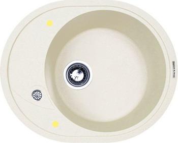Фото Кухонная мойка Zigmund amp Shtain KREIS OV 575 индийская ваниль