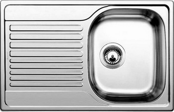 Кухонная мойка BLANCO TIPO 45 S Compact нерж. сталь полированная