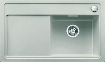 Кухонная мойка BLANCO ZENAR 45 S жемчужный с клапаном-автоматом чаша справа blanco lexa 6 s чаша справа жемчужный