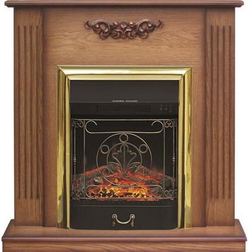 Каминокомплект Royal Flame Lumsden с очагом Majestic BR (дуб антик) каминокомплект royal flame alexandria с очагом majestic fx brass rb std3brfx белый дуб