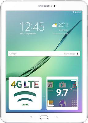 Планшет Samsung Galaxy Tab S2 9.7 SM-T 819 LTE белый смарт часы samsung gear s2 black