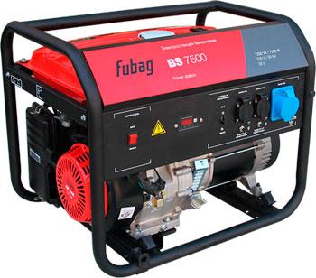 Электрический генератор и электростанция FUBAG BS 7500 bs 7500 а es