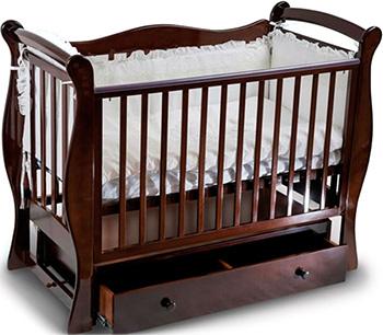 Детская кроватка Sweet Baby Dolce Vita Noce (Орех) кроватка mibb dado noce antico темный орех li030dna