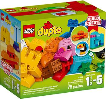 Конструктор Lego Duplo Набор деталей для творческого конструирования 10853 lego lego duplo набор деталей для творческого конструирования