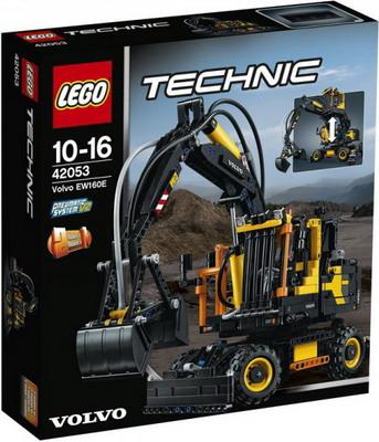 Конструктор Lego TECHNIC Экскаватор VOLVO EW 160 E 42053 lego technic 42031 ремонтный автокран
